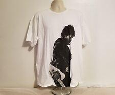 Bruce Springsteen Born To Run Adult White XL TShirt