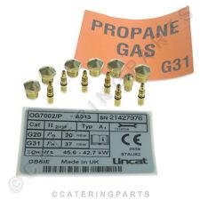 Lincat CKP49 Kit de Conversión Nat a LPG Gas Opus Gama Horno OG7002 Post