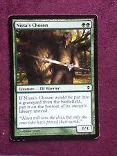 Nissa's Chosen  MTG PLAYED (see scan)