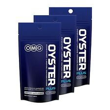 3X OMG OYSTER PLUS Dietary Supplement For Men 30 Capsules