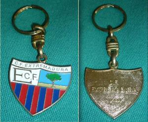 C.F. EXTREMADURA SPAIN 1980s - Original Old key chain