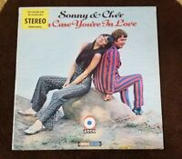 "Vintage 1967 Sonny & Cher ""In Case You're In Love"" LP - ATCO Records (33-203) EX"