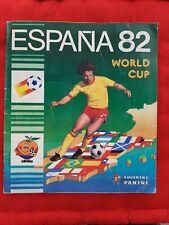 """ALBUM FIGURINE PANINI """"ESPANA 82"""" COMPLETO IN BUONE CONDIZIONI"""