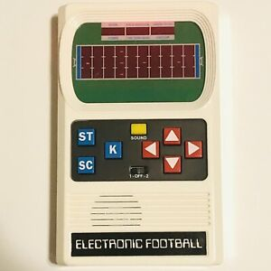 MATTEL Electronic Football Handheld 1970s Retro Video Game - Tested/Functional