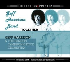 GEFF BAND HARRISON - TOGETHER & GEFF HARRISON & THE BONUS EDITION   2 CD NEU