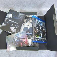 BLACK ROCK SHOOTER Blu-ray DVD Figure Storyboard & Art Book Set Japan Ltd huke *