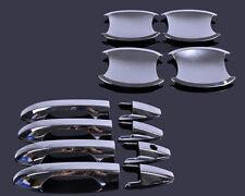 New Chrome Door Handle Cover + Cup Bowl Kit for Honda CRV CR-V 2007-2011