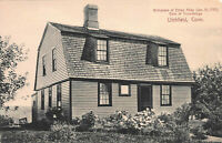 Birthplace of Ethan Allen, Litchfield, Connecticut, Early Postcard, Unused