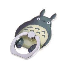 1X Kawaii Totoro Support De Téléphone Portable Doigt-Bague Alliage Adhésif 360°