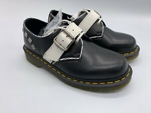 Dr. Martens Womens Leather Shoes Zambello Stud 1461 UK5 UK7 | Brand New