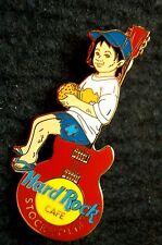HRC Hard Rock Cafe Stockholm Kids on the Dump 2003 Guitar LE300