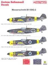 Techmod Decals 1/32 MESSERSCHMITT Bf-109G-2 w/Masks