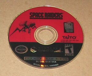 Space Raiders (Game Only) Nintendo GameCube Fast Shipping