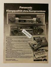 Werbeanzeige/advertisement A4: Panasonic car audio CQ-864 1981 (110416189)