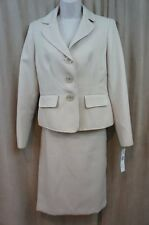 "Evan Picone Suit Sz 18 Champagne ""City Chic"" Business Career 2 PC Skirt Suit"