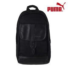 PUMA Drift Backpack Black Casual Messenger Bag Duffle Sports Gym NWT 070622-01