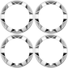 "4 PC Set 15"" Inch Beauty Outer Trim Rings FITS TOYOTA PRIUS 2004-2009 Hub Caps"
