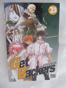 Manga Get Backers T 23 (Yûya Aoki & Rando Ayamine) / Pika Edition 2007