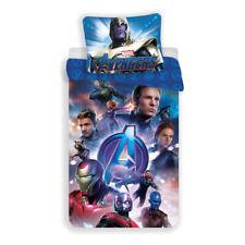 AVENGERS Thanos Iron-Man Ant-Man Captain Single Bed Duvet Cover Set 100% COTTON