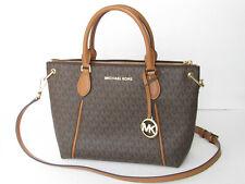 Michael Kors Sierra Signature Logo Medium Satchel Handbag