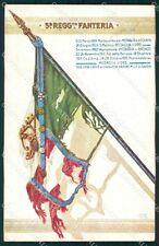Militari Reggimentali VI° Reggimento Fanteria 1936 cartolina XF4284
