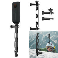For GoPro/Insta360/Osmo Action Alloy Extension Arm Camera Extended Mount Holder