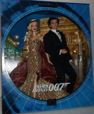 Barbie and Ken as 007 - James Bond spy figure set MIB
