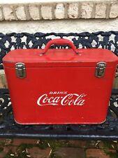Rare 1940's -1950 Coca Cola Airline Cooler All Original Paint