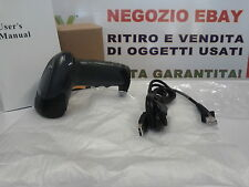 BARCODE READER LETTORE CODICI A BARRE PISTOLA LASER BARCODE SCANNER USB RS32 PS2