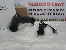 LETTORE DI CODICI A BARRE PISTOLA LASER BARCODE SCANNER USB RS32 PS2