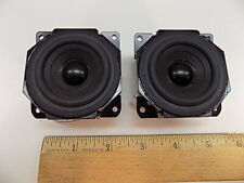 """New listing Lot of (2) Sony 2.5"""" 12 ohms Full Frequency Speaker Pair"""