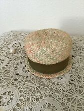 """60's Vintage Woven """"Union Made"""" Hat"""