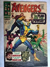 The Avengers #42 7.5 VF- OW/C Pgs Giant Man Scarlet Witch SILVER AGE Movie