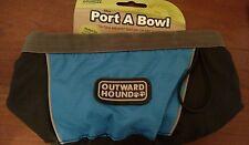 Outward Hound Portable Pet Travel Bowl (48-oz.) - Blue