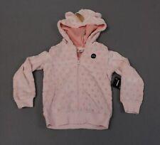 Okie Dokie Toddler Girl's Rainbow Unicorn Full-Zip Hoodie CD4 Pink Size 5T NWT
