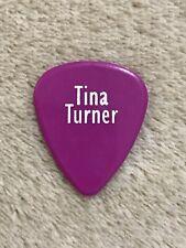 Tina Turner 2000 Final Tour Guitar Pick