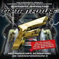 CAPTAIN FUTURE:DIE HERAUSFORDERUNG-FOLGE 05-GEFÄHRLICHER SCHWINDEL  CD NEU
