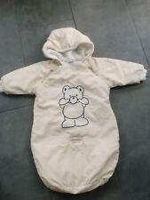 Baby-Anzug-/Schlaf-/Transport-Sack von Oskars mini für Gr. 68-74 in zartem gelb