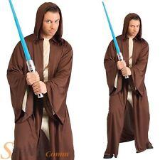Oficial De Hombre Con Capucha Caballero Jedi Bata Disfraz Star Wars Halloween