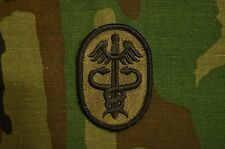 Military Patch US Army Medical Command Subdued BDU Sew On Authentic