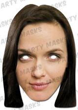 Victoria Pendleton Celebrity Face Card Mask,  Impersonation/Fancy Dress
