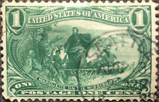 Vintage Scott #285 US 1898 1 Cent Jacques Marquette Postage Stamp