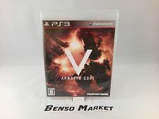 ARMORED CORE V 5 SONY PS3 PLAYSTATION 3 IMPORT NTSC-J JP JAP GIAPPONESE COMPLETO