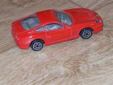 1/43 diecast Ferrari 550 Maranello, Burago, red