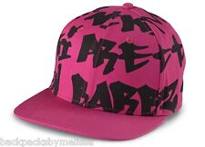 "Nicki Minaj HAT NeW Pink and Black ""BARBZ"" Baseball Cap Adjustable Strap"