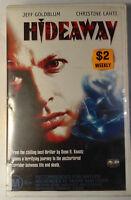 Hideaway VHS 1995 Horror Brett Leonard Jeff Goldblum Columbia TriStar Large Case