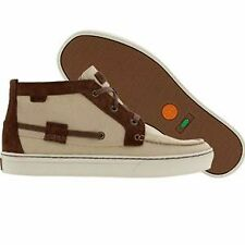 New Timberland 66179 Khaki EK Moc Toe Chukka Canvas men's  Shoes 8.5  $135