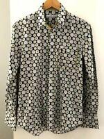 carlo cimino Men's size Small Shirt Multicoloured long Sleeve Collar