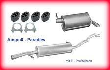 Abgasanlage Auspuff VW Sharan I 1.8T 20V (Turbo) Typ 7M8, 7M9, 7M6 + Anbaukit