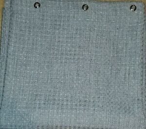 Gray shower curtain
